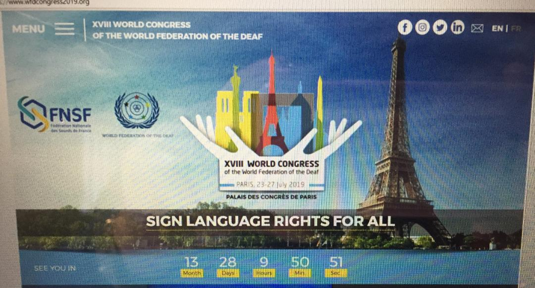 xviii world congress of the world federation of the deaf