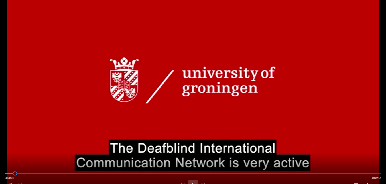 Introducing Deafblind International Communication Network