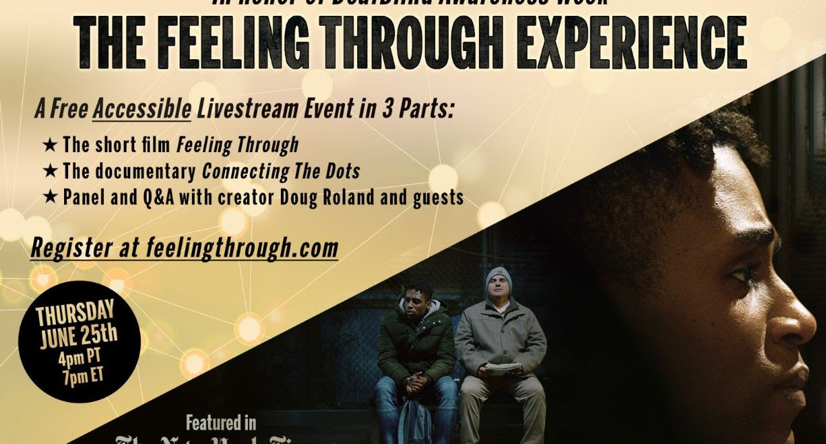 The Feeling Through Experience. Get your free e-ticket!